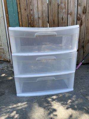 Sterlite storage containers/drawers for Sale in San Jose, CA