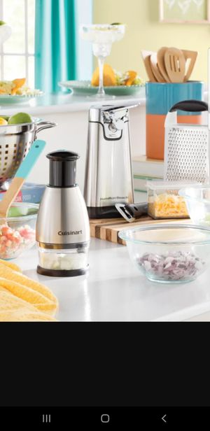 Cuisinart Stainless steel Chopper for Sale in Brooklyn, NY