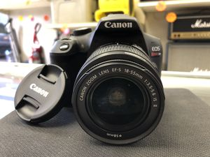 Canon EOS Rebel T6 Camera w/ 18-55mm lens for Sale in Humble, TX