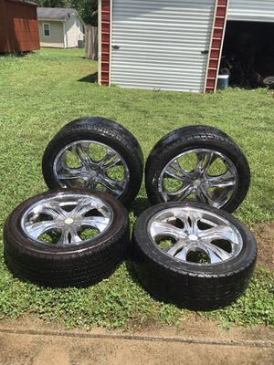 22' Inch Rims and Tires for Sale in Columbia, TN
