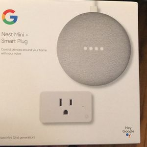 Google nest and Smart Plug for Sale in Fort Worth, TX