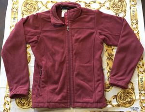 Size XS extra small vintage Patagonia burgundy full zip long sleeve runner jacket for Sale in Selma, CA