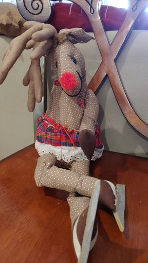 Reindeer fireplace topper for Sale in Gaithersburg, MD