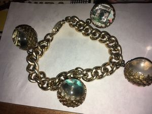 Vintage INOX Souvenir Linked Bracelet ROME for Sale in Valley View, OH