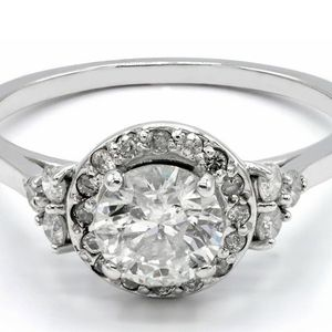 U3622 DIAMOND ENGAGEMENT RING 1.08CT LADIES WEDDING BAND 14K GOLD for Sale in Los Angeles, CA
