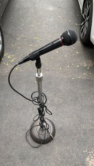 Mic and Stand for Sale in Plainfield, IL