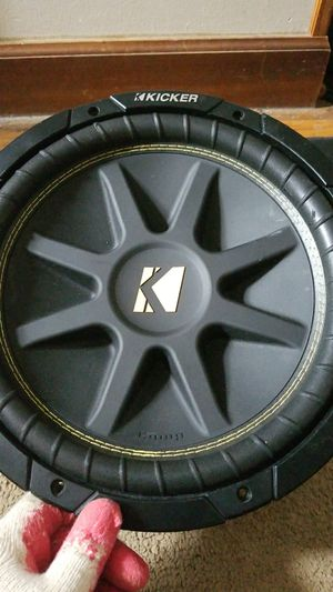 12' kicker subwoofer for Sale in Rockville, MD