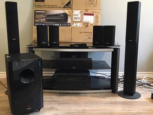 Onkyo Home Theater Surround Sound System for Sale in West Hollywood, CA