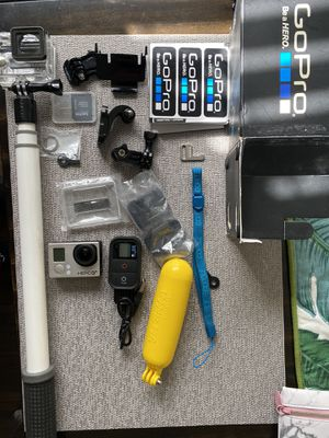 Go Pro Hero 3 with accessories for Sale in Lakewood, CA