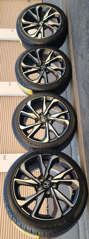 Wheels 18 5 lugs stock honda for Sale in Bell Gardens, CA