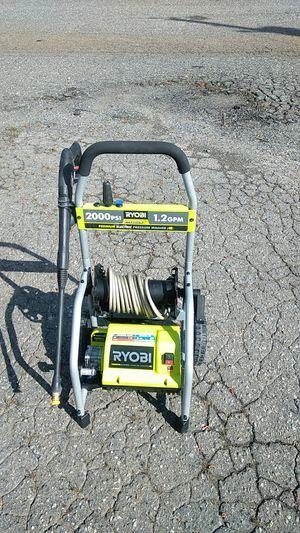 Electric pressure washer RYOBI 2000 PSI 1.2 GPM for Sale in Belmont, NC