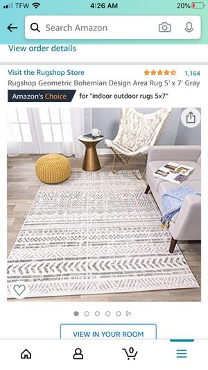 Brand new 5 x 7 rug for Sale in Charlotte, NC