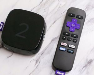 Roku 2 works perfect with HDMI cable and Remote for Sale in Raleigh, NC