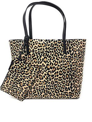 Kate Spade leather leopard tote for Sale in San Diego, CA