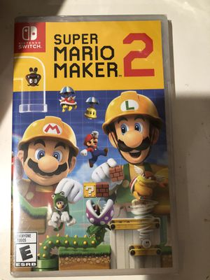 Brand new Nintendo Switch Mario maker 2 for Sale in San Jose, CA