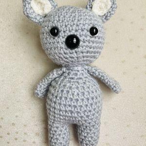 Crochet Koala, Crochet Mouse, Newborn Toys, Infant Toys, Baby Shower Gift for Sale in Burlington, MA