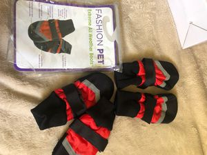Pet weather boots! for Sale in Arroyo Grande, CA