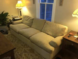 Goose down couch and chair for Sale in Golden, CO
