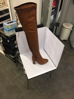 Thigh High Leather Boot (black, brown and taupe (suede) for Sale in Philadelphia, PA