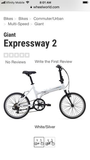 2-Giant folding bikes and bags. Barely used. for Sale in Vancouver, WA