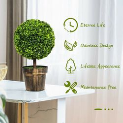 Artificial Boxwood Topiary Ball tree for Sale in Los Angeles,  CA