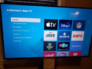 """Element 55"""" 4K Smart TV for Sale in Chicago, IL"""