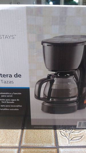 Mainstays coffee maker for Sale in Las Vegas, NV