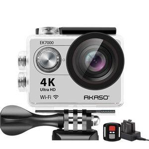 AKASO EK7000 4K Action Camera Sports WiFi Underwater Camcorder DV (Silver) for Sale in Plant City, FL