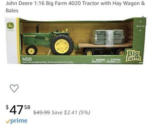 New John Deere Tractor, Trailer & Bales of Hay for Sale in Raleigh, NC