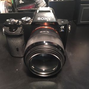 Sony a7s camera w/ lens for Sale in Chula Vista, CA
