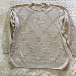 Vintage Burberry Knit Sweater Sz 42 Large for Sale in Largo,  FL