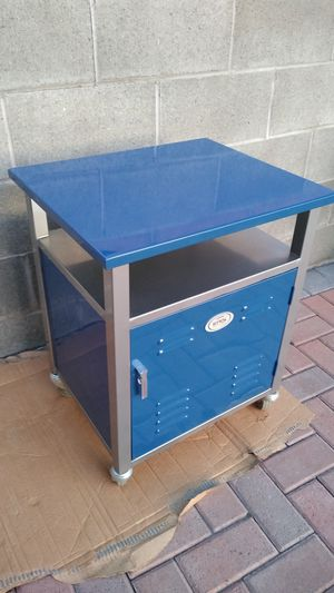 "Form b1926 Follows Function Blue Boys Locker Room Style Night Stand 20 1/2"" L x 17""D x 25 1/2"" H for Sale in Gardena, CA"