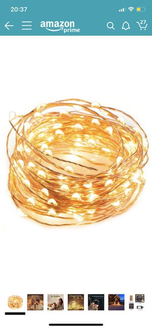 LED string light for Sale in Newton, MA