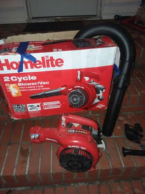 Home life blower with vacuum system for Sale in Newport News, VA