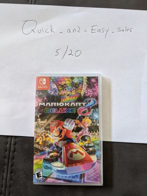 Brand new Mario kart deluxe for Nintendo Switch for Sale in Lutz, FL