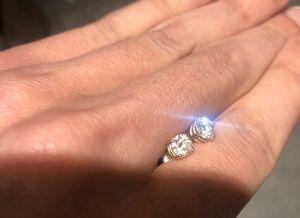1.2 ct ttw diamond earrings trade possible for Sale in Philadelphia, PA