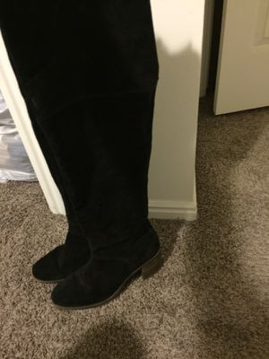 Over the knee boots (lucky brand) size 11 for Sale in Salt Lake City, UT