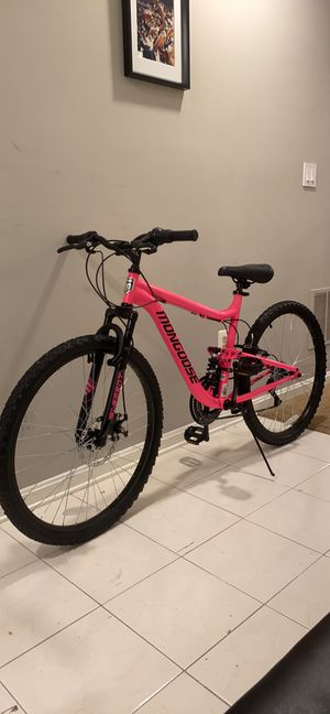 "Brand new 26"" Mongoose Mountain Bike Full Suspension for Sale in Springfield, VA"