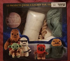 Star Wars Yoda & Stormtrooper Crochet Kit for Sale in Cleveland, OH