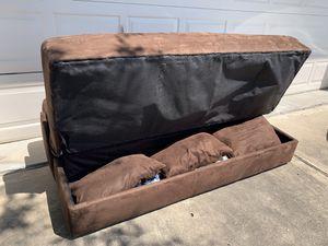 Futon w/storage space for Sale in Houston, TX
