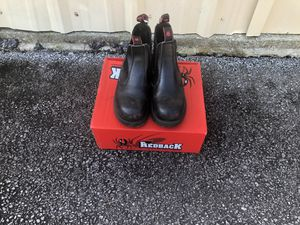 Red Back size 9 steer toe mechanic work boots (used 2 times) for Sale in Lithia Springs, GA
