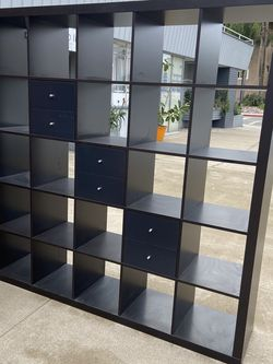 Awesome Bookshelf with six Drawers Perfect for holding albums for Sale in Coronado,  CA