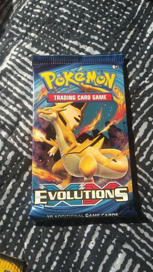 Pokemon Evolutions charizard pack for Sale in Tulare, CA