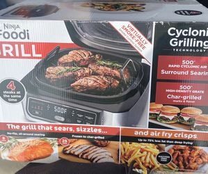 Ninja Foodi 4qt 5-in-1 Indoor Grill and Air Fryer - AG301 for Sale in Fontana,  CA