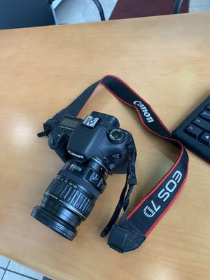 Canon 7d camera and lens. for Sale in Rocklin, CA