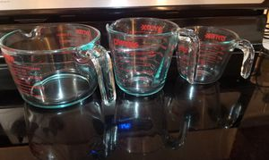 3 New Pyrex Measuring Cups for Sale in Bellevue, WA