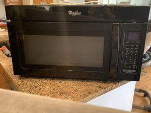 Whirlpool over the range microwave for Sale in Parker, CO