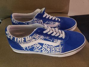 Van's blue size 10.5 new never used for Sale in City of Industry, CA
