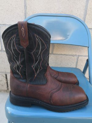 Ariat composite toe work boots size 8.5D for Sale in Riverside, CA