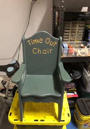 Small kids wood time out chair for Sale in McKinney, TX
